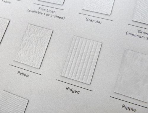 [PAPIER] Les papiers embossés made in Colorplan