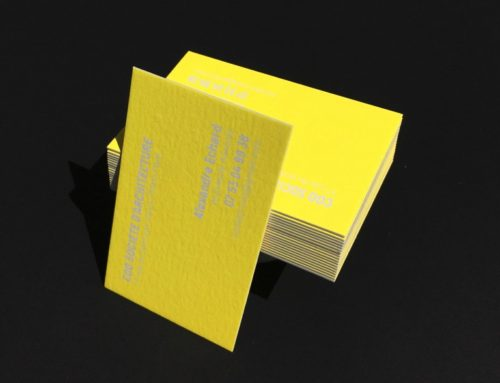 [VIDEO] Impression Carte de Visite Pantone Fluo