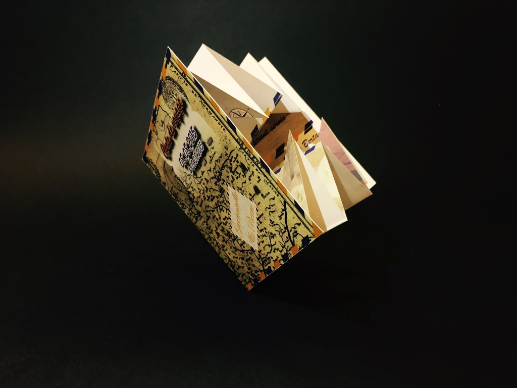 Faire Part Mariage Cartapli Carte De Voyage Avec Pliage Origami