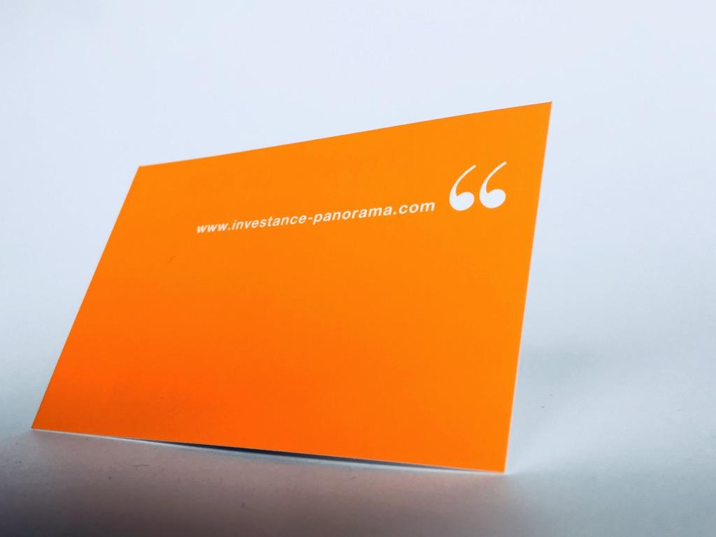 View Larger Image Carte De Visite Pantone Orange Et Pelliculage Soft Touch
