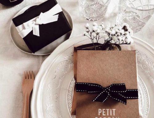 Pochette pour carte Cadeau Kraft Naturel 350gr/m2 et Impression Blanche Numérique
