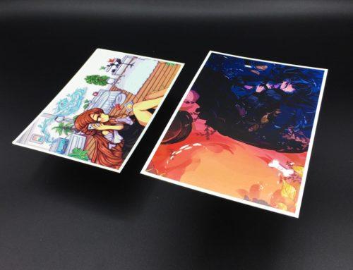 Cartes Postale dessins Mangas Japonais – Carte couché 1 face 300gr/m2