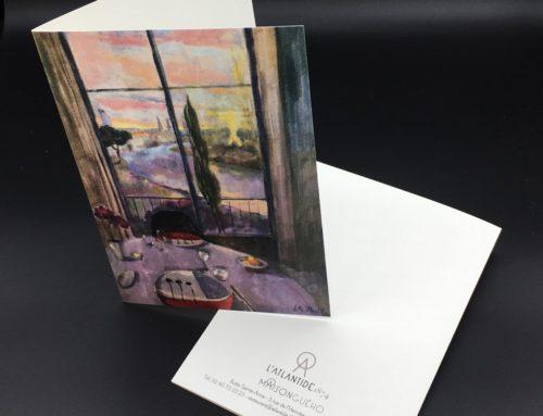 Carte de restaurant haut de gamme reproduction de peinture – Rives Tradition 320grm2