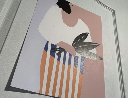 Affiche artiste sur papier de création Old Mill 300gr/m2