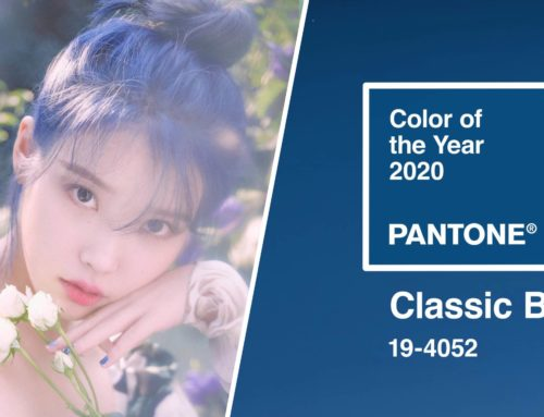 Pantone Color of the Year 2020 : 19-4052 Classic Blue