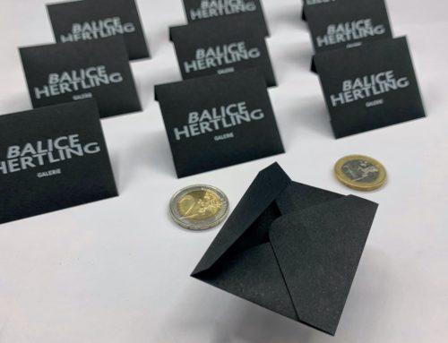 Mini enveloppes patte pointue faites main – Sirio Color Nero 115gr/m2