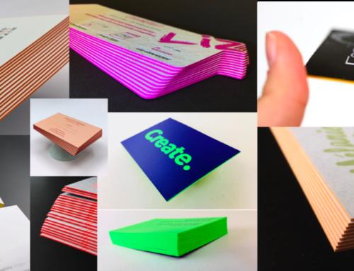 Catalogue de teintes pour couleur sur tranche