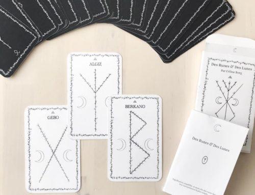 Jeu de Tarot 25 cartes, Notice et Boite sur mesure – pelliculage Mat et découpe laser