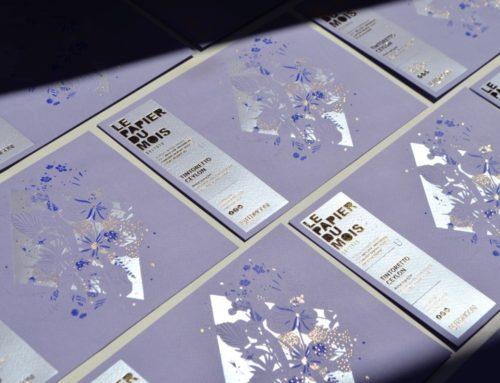 [Collab'] Le papier du mois d'Août 2020 by Fedrigoni