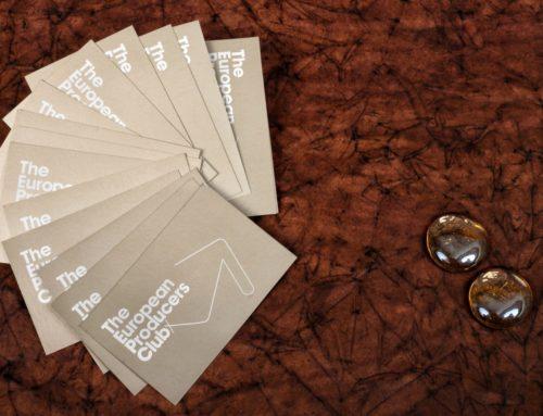 Cartes de visite producteur – Pantone Metal 8003C – Couché Mat 350gr/m2