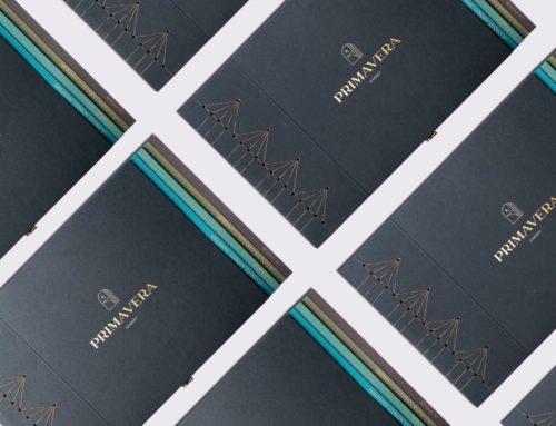 Rapport d'appel d'offre haut de gamme PRIMAVERA – Reliure Japonaise avec onglets- Marquage à Chaud or Mat sur Colorplan