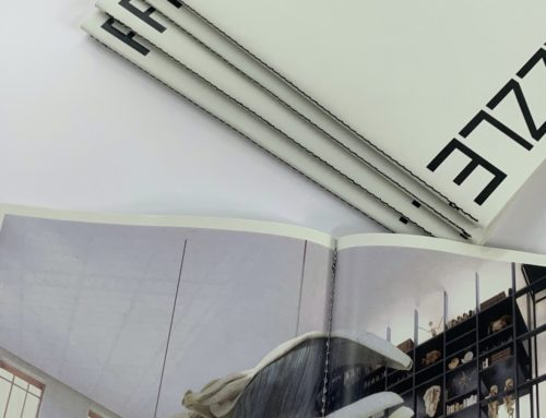 Book Architecte avec Couture Singer au pli Noir – Papier 100% Recyclé