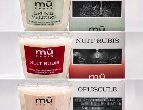 Trio d'étiquettes velours avec découpe à la forme pour bougies parfumés de caractère – Marquage à chaud noir et blanc mat – Papier Velours sur mesure