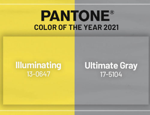 Pantone Color of the Year 2021 : 17-5104 Ultimate Gray & 13-0647 Illuminating