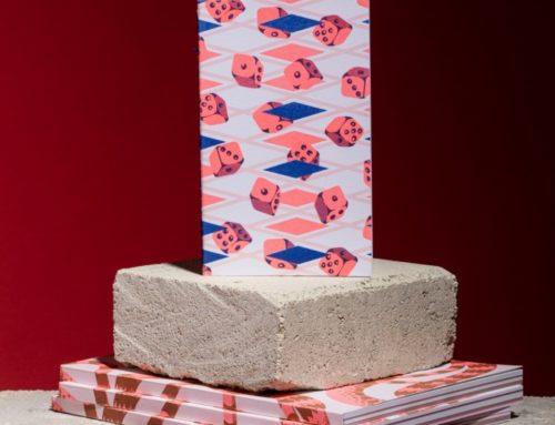 Carnets de notes 100% recyclé avec des papiers issu de rebus  – Impression Risographie et reliure dos carré collé