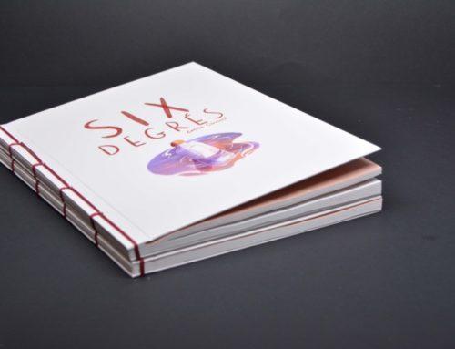 Book Bande dessinée pour projet de fin d'étude – Couverture rembordée rigide avec reliure Japonaise et pages pliées